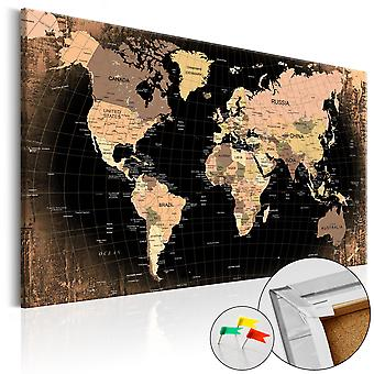 Wellindal Cork Board Planet Earth Cork Map (Decoration , Pictures and frames)