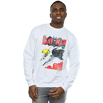 DC Comics Men's Batman Issue 1 Cover Sweatshirt