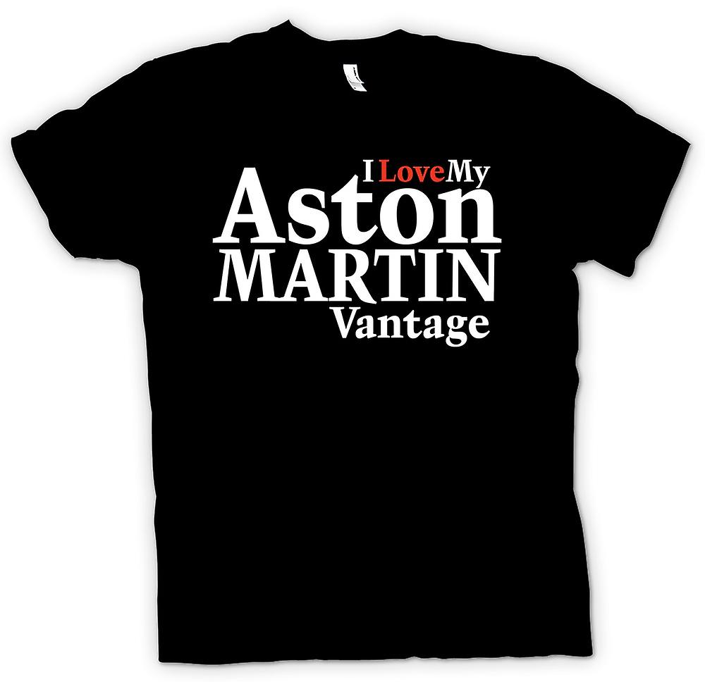 Kids T-shirt - I Love My Aston Martin Vantage - Car Enthusiast