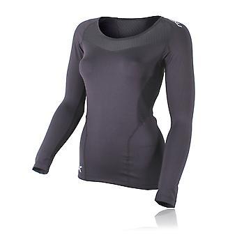 2XU Base Compression Women's Long Sleeve Running Top - AW19