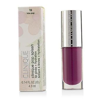 Clinique Pop Splash Lip Gloss + Hydration - # 19 Vino Pop - 4.3ml/0.14oz