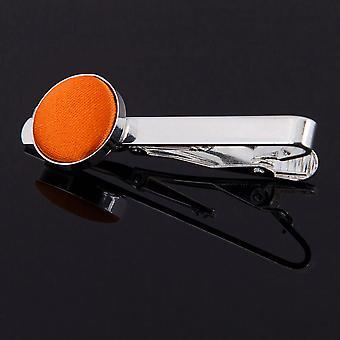 Burnt Orange Plain Krawattenklammer