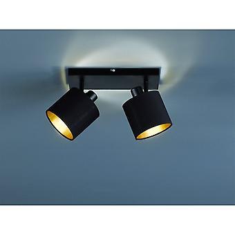 الثلاثي الإضاءة الحديثة تومي الأسود بقعة المعدن مات