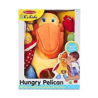 Melissa & Doug K's kinderen honger Pelican zacht stuk speelgoed