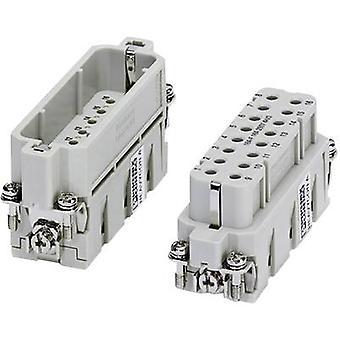 Socket inset HC-A 1677050 Phoenix Contact 16 + PE Crimp 1 pc(s)