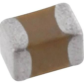 Kemet C0603C154K4RAC7867+ Ceramic capacitor SMD 0603 150 nF 16 V 10 % (L x W x H) 1.6 x 0.35 x 0.8 mm 1 pc(s) Tape cut, re-reeling option