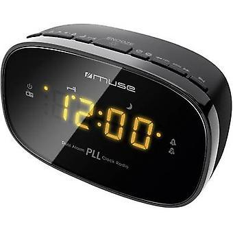 FM Radio alarm clock Muse M 150 CR FM Black