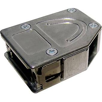 D-SUB housing Number of pins: 25 Metal 180 °, 45 °, 45 ° Silver Provertha 10425DC001 1 pc(s)