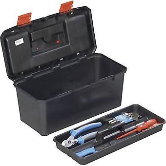 Tool box (empty) Alutec 56270 Plastic Black, Orange