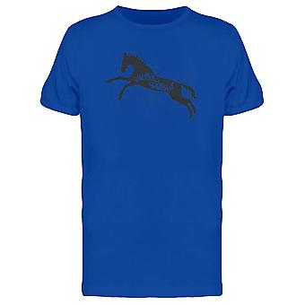 Animals World Horse Silhouette Tee Men's -Image by Shutterstock