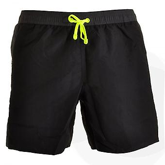 EA7 Emporio Armani Sea World Block Swim Shorts, Black (54)