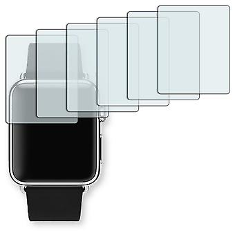 Apple Watch 38mm screen protector - Golebo Semimatt protector (deliberately smaller than the display, as this is arched)