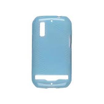 Ventev kryds og tværs Dura-Gel tilfældet for Motorola Photon 4G MB855 (turkis)