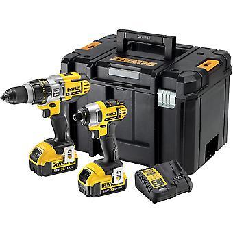 DeWALT DCK290M2T 18V XRP Premium borehammer & indvirkning Driver Twinpack