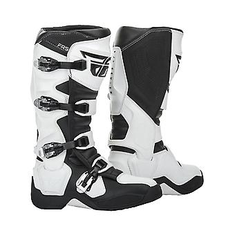 Fly Racing White 2019 FR5 MX Boot