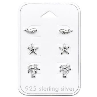 Strand - 925 Sterling sølv sæt - W30777X