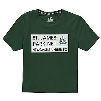 Team Kids St James Tee Juniors Crew Neck Shirt