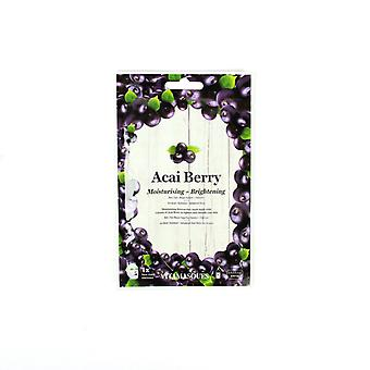 Vitamasques Acai Berry (1 pc) Moisturising + Brightening