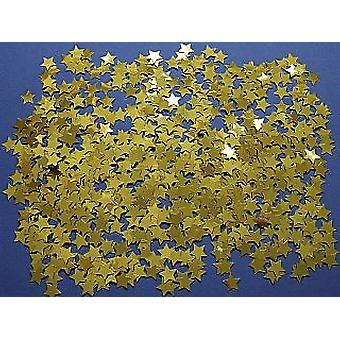 Gold Star Foil Confetti Sequins - 14g |  Sequins for Crafts