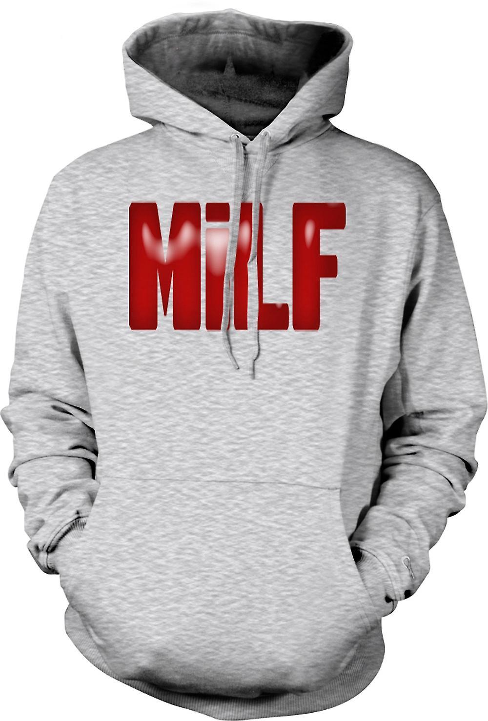 Mens Hoodie - MILF - Funny - Yummy Mummy