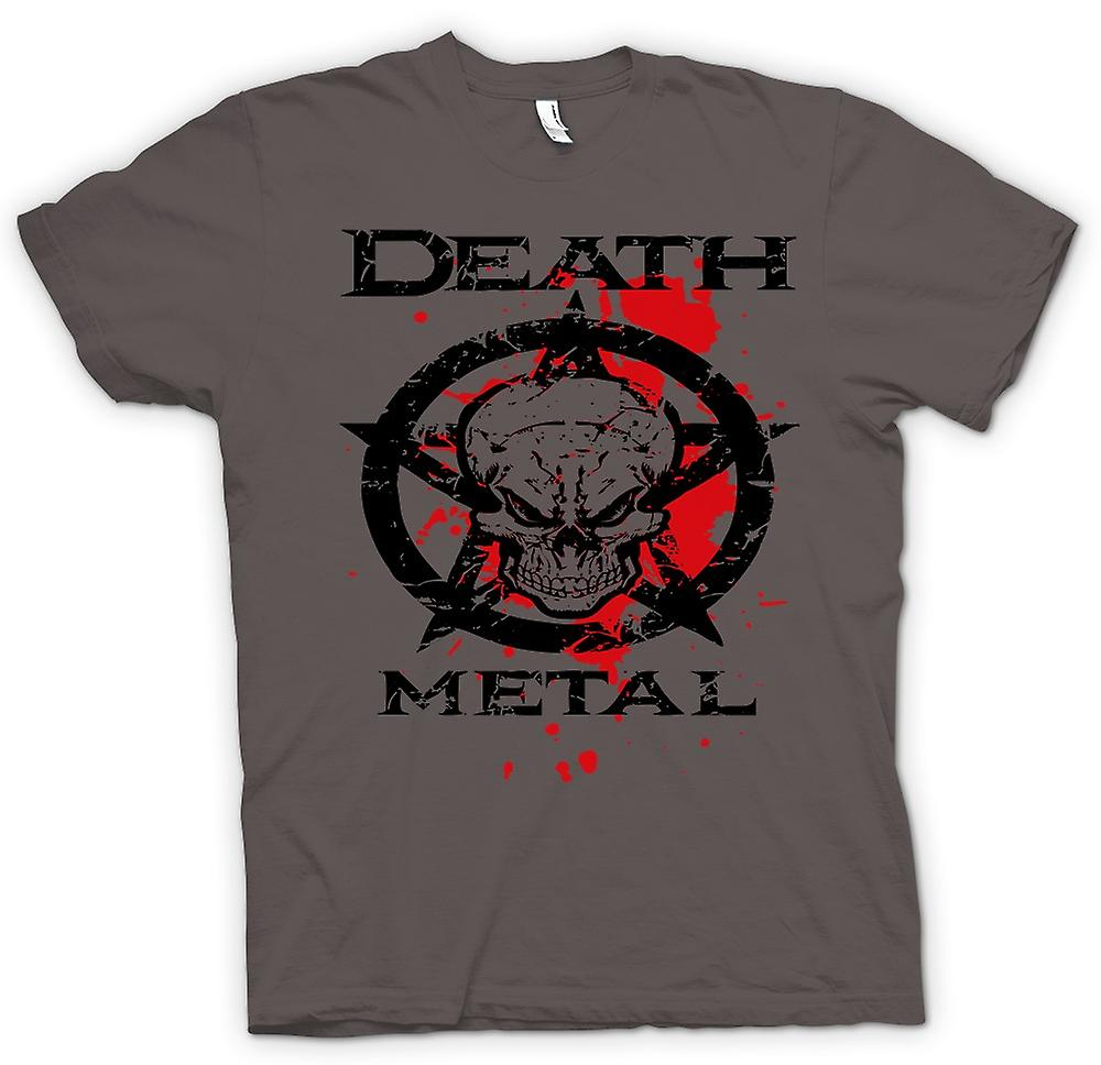 Womens T-shirt - Death Metal - Thrash Metal noir - musique