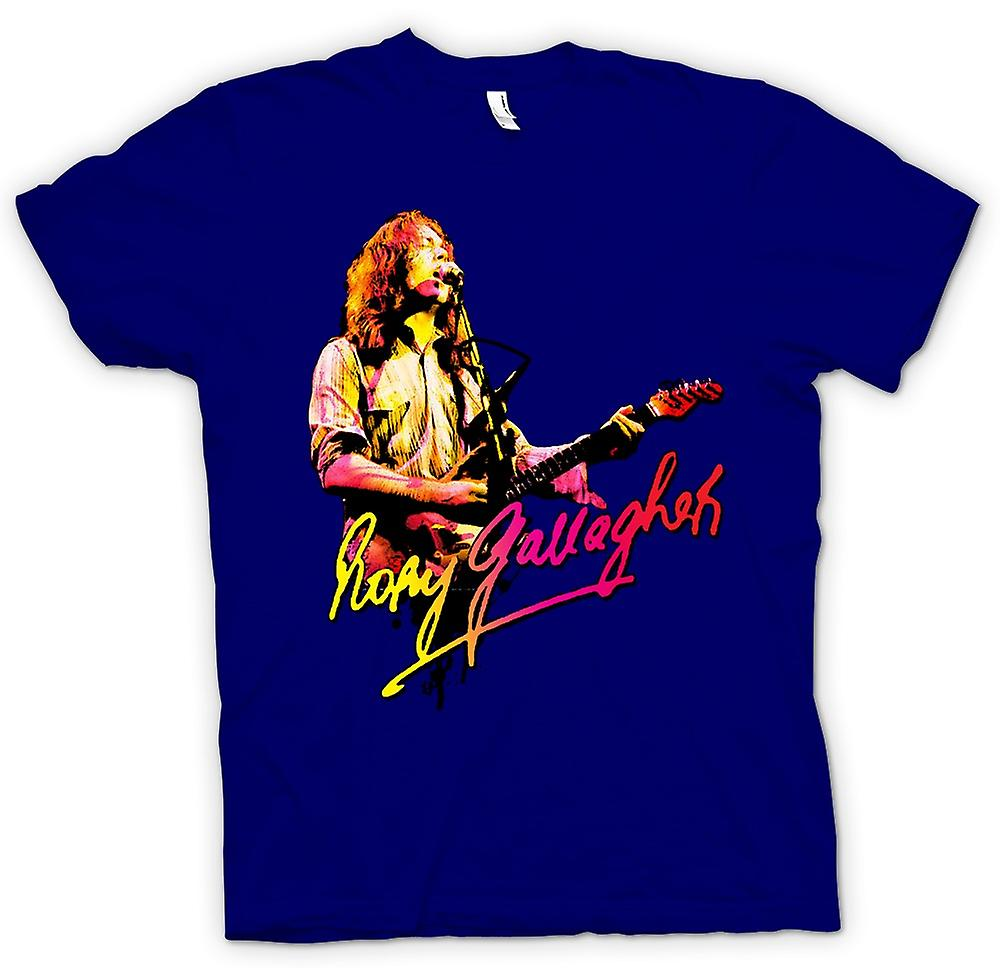 Mens T-shirt - Rory Gallagher - Blues Gud - Rockmusik