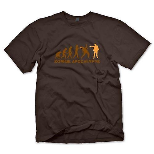 Camiseta para hombre - Apocalipsis Zombie - gracioso