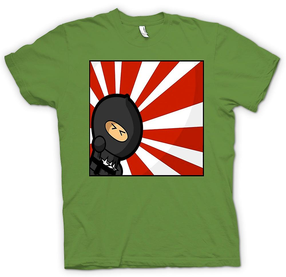 Heren T-shirt - Ninja - Pop Art - grappig