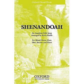 Shenandoah: SATB vocal score: SATB Version