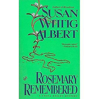 Rosemary mindes (ett Kina Bayles mysterium)