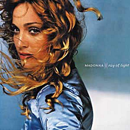 Madonna Ray Of Light steel fridge magnet (cv)