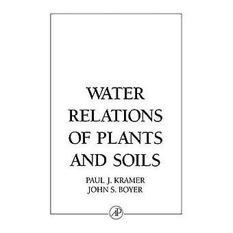 Relations de l'eau des plantes et des sols par Kramer & Paul J.