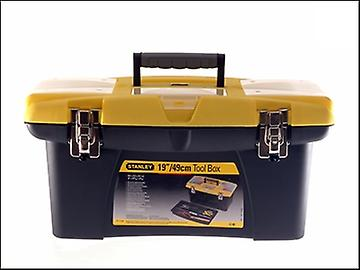 Stanley Tools Jumbo Tool Box 19in + Tray