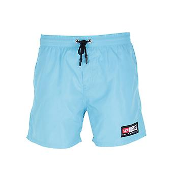 Diesel Sky Blue Wave svømme Shorts
