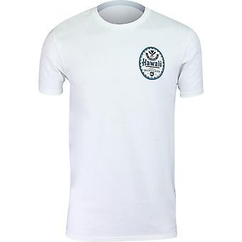 Quiksilver Mens HI Beer Hawaii T-Shirt - White