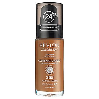 Revlon Colorstay Foundation for Combination/Oily Skin, #355 Almond