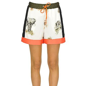 Pinko Multicolor Polyester Shorts