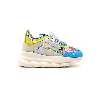 Versace Multicolor Nylon Sneakers