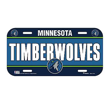 Fanatics NBA license plate - Minnesota Timberwolves