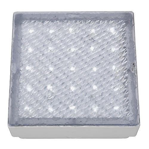 Searchlight 9913WH Led Recessed Clear 15cm Square Walkover White Led IP68