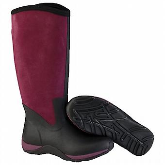 Muck Boot Arctic Adventure Suede Boots - Black & Purple