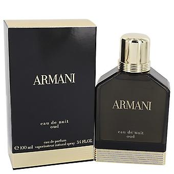 Armani Eau De Nuit Oud by Giorgio Armani Eau De Parfum Spray 3.4 oz / 100 ml (Men)