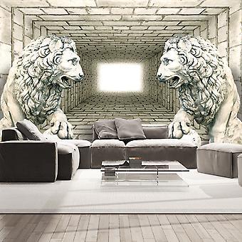 Wallpaper - Chamber of lions