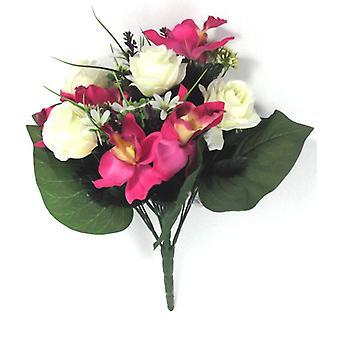 Artificial Silk Rose Cymbidium