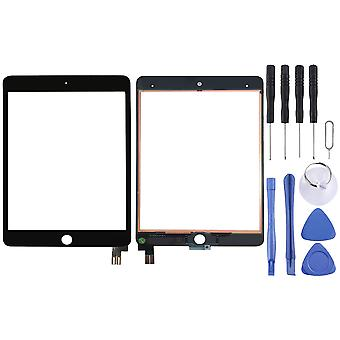 Para Apple iPad Mini 5 7,9 Touch Screen visor de vidro digitalizador para LCD preto
