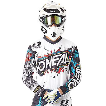 ONeal White 2019 Element Villain MX Jersey