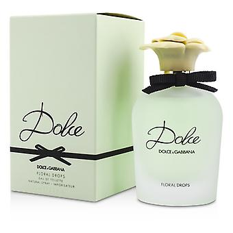 Dolce & Gabbana Dolce Floral Drops Eau De Toilette Spray 75ml/2.5 oz