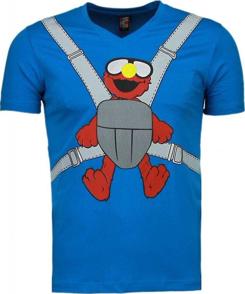 Baby Bear - T-shirt - Blauw