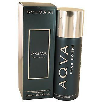 Bvlgari Aqva Pour Homme refrescante Body spray 150ml