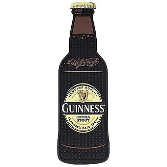 Guinness Bottle Shaped PVC Bar Spill Mat   (sg)
